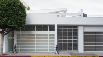 Gagosian contemporary art gallery in Beverly Hills, USA