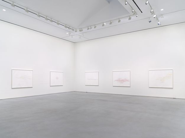 Exhibition view: Roni Horn, Recent Work, Hauser & Wirth, 22nd Street, New York (23 February–10 April 2021). © Roni Horn. Courtesy the artist and Hauser & Wirth. Photo: Ronn Amstutz.