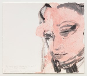 Amy - Back to by Marlene Dumas contemporary artwork