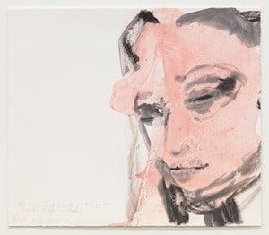 Amy - Back to by Marlene Dumas contemporary artwork print