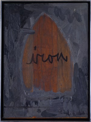Iron by Jasper Johns contemporary artwork