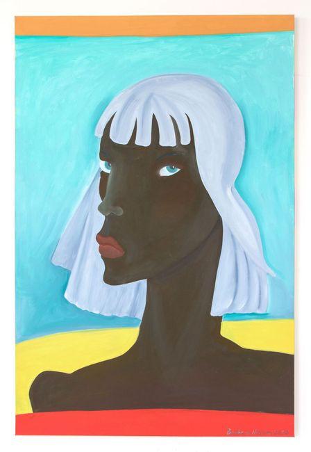 Grey on Gray by Barbara Nessim contemporary artwork