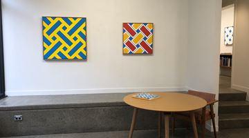 Contemporary art exhibition, Ian Scott, Minimal Lattices 1978–1988 at Hamish McKay, Wellington