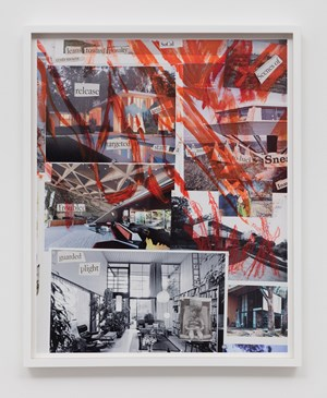 Mural Study #1 (The Modernist) by Catherine Opie contemporary artwork