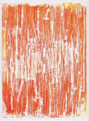 Seria Ludo Red by Christopher Le Brun contemporary artwork