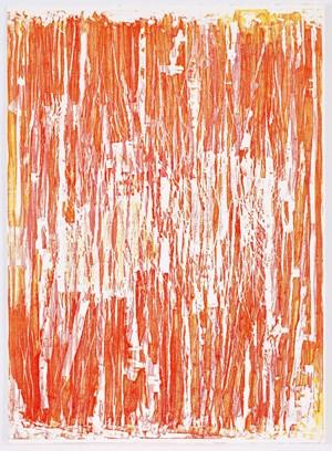 Seria Ludo Red by Christopher Le Brun contemporary artwork