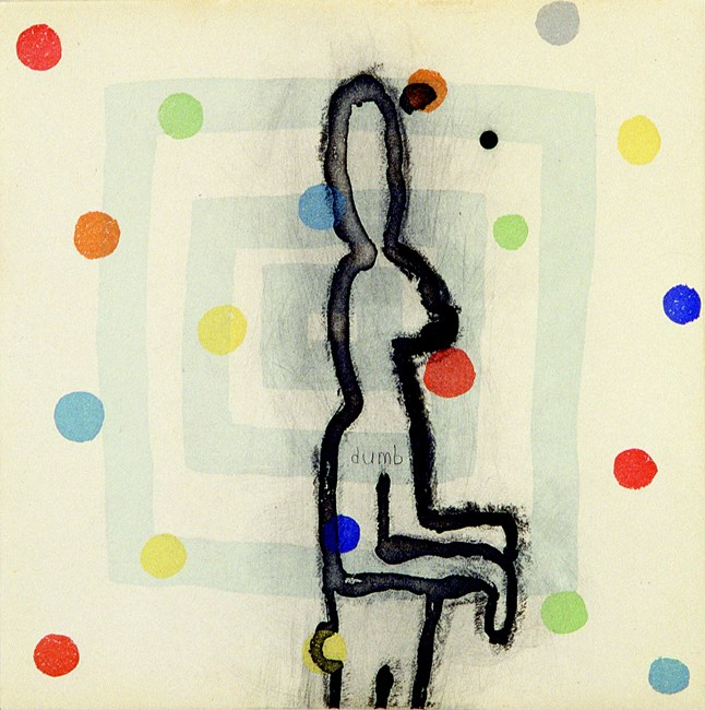 Dumb by Squeak Carnwath contemporary artwork