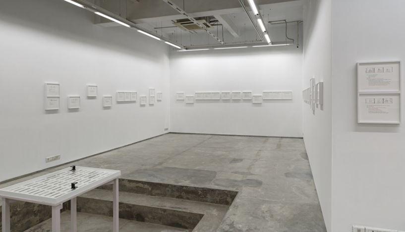 Exhibition view:Naeem Mohaiemen, দুই • dui, Experimenter Hindustan Road,Kolkata (23 August–5 November 2019). CourtesyExperimenter.