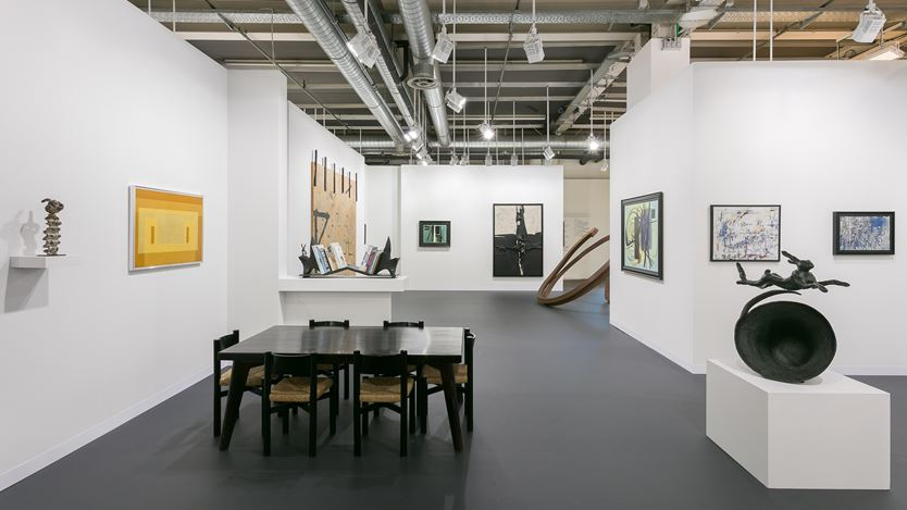 Waddington Custot, Art Basel, Basel (14–17 June 2018). Courtesy Waddington Custot.