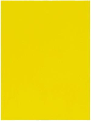 Untitled (Yellow) by Mayo Thompson contemporary artwork