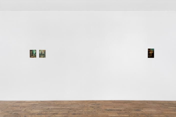 Exhibition view: Christopher Orr, HdM GALLERY, Beijing (18 July–15 August 2020). Courtesy HdM GALLERY.