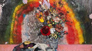 Contemporary art exhibition, Matthew Day Jackson, Flowers, Windows and Thistles at Hauser & Wirth, Zurich