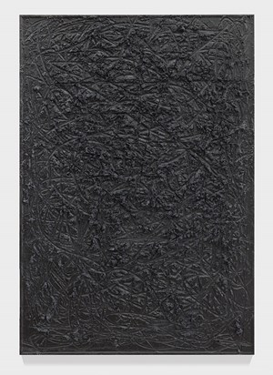 "Cosmic Slop ""Fear"" by Rashid Johnson contemporary artwork"
