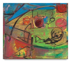 [Untitled] Landscape No. 11 [per HH cat. no.] by Hans Hofmann contemporary artwork