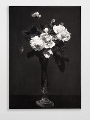 Roses (after Fatin-Latour) by Don Brown contemporary artwork