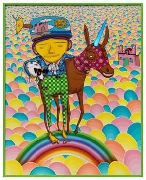Someone to share the dreams by OSGEMEOS contemporary artwork