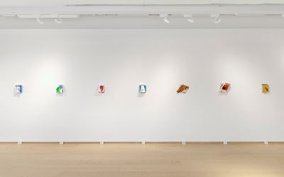 Exhibition view: Richard Tuttle, For Ourselves As Well As For Others, Pace Gallery, Geneva (14 November 2018–10 January 2019). Courtesy Pace Gallery.
