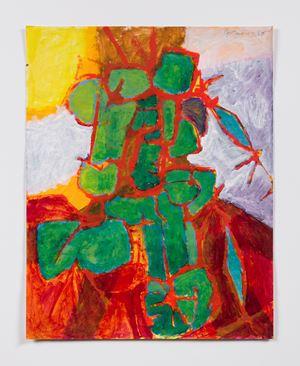 Portrait by Luchita Hurtado contemporary artwork