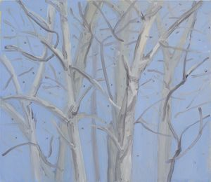 Untitled (Trees and Sky) by Marco Eusepi contemporary artwork