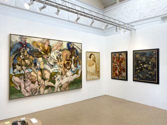 Hollis Taggart, Hamptons Fine Art Fair, New York (2–5 september 2021). Courtesy Hollis Taggart.