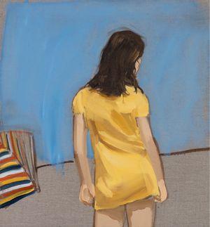 Yellow by Gideon Rubin contemporary artwork painting