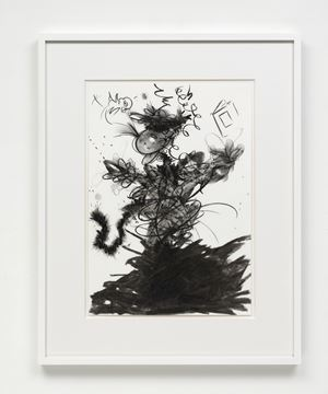 Drawing (figure 3l) by Fiona Rae contemporary artwork