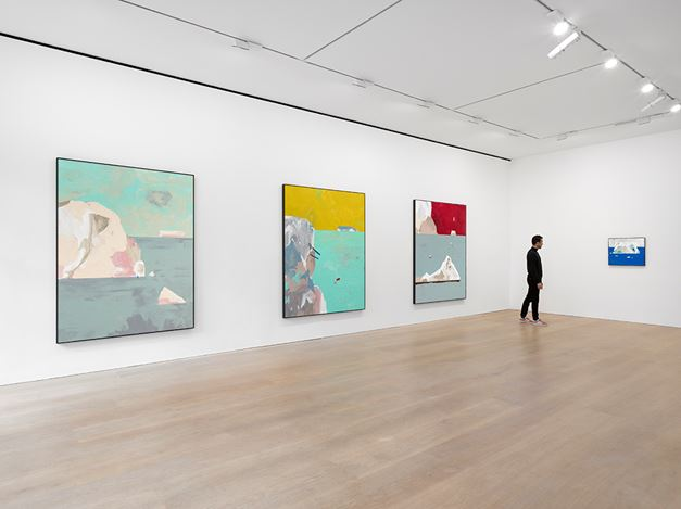 Exhibition view: Harold Ancart, Freeze, David Zwirner, London (31 August–22 September 2018). Courtesy the artist and David Zwirner.