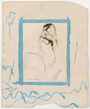 Untitled [Espagnole] by Francis Picabia contemporary artwork