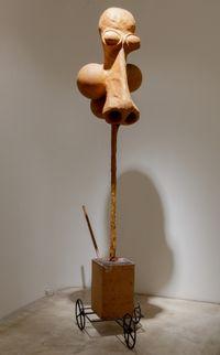 Nose Cart by Atelier Van Lieshout contemporary artwork mixed media