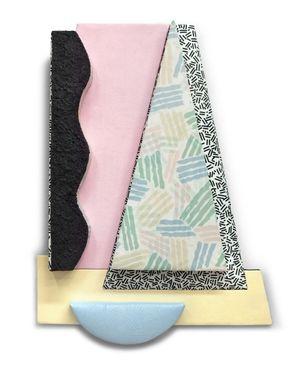 Confetti Machete by Leah Guadagnoli contemporary artwork