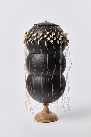 un voile inflation model by Nolan Oswald Dennis contemporary artwork sculpture