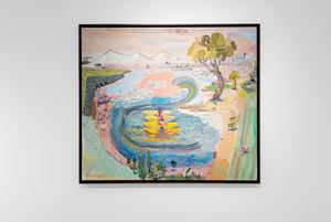 Emigrant Lake by Lisa Sanditz contemporary artwork