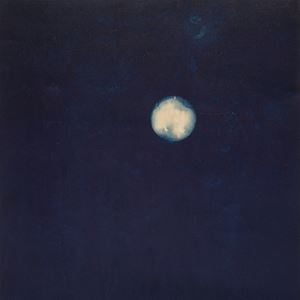 Jūsanya (13th Night Moon/ Waxing Gibbous) August 2 Day 139 Lockdown (Latitude 40.760131, Longitude -73.980127) by Miya Ando contemporary artwork
