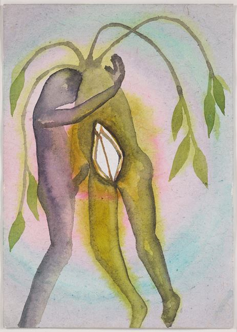 A Story Well Told III by Francesco Clemente contemporary artwork