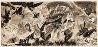 Wild Bird by Knox Martin contemporary artwork painting