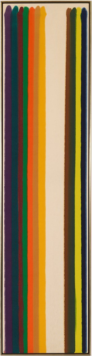 Number 4-29 by Morris Louis contemporary artwork