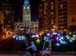 Cai Guo-Qiang's Fireflies Lights Up Philadelphia