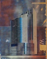 Shenzhen Office Building by Cui Jie contemporary artwork painting