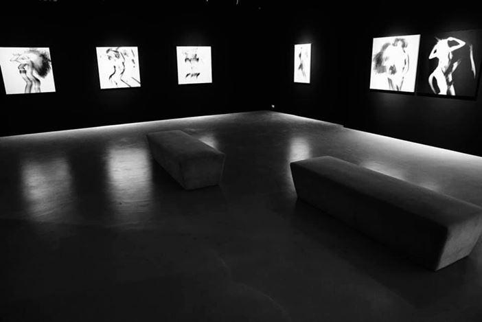 Exhibition view: Joshua Lin, Flux of Shadows, TKG+, Taipei (1 August–12 September). Courtesy TKG+, Taipei.