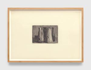 Natura morta con cinque oggetti (Still life with five objects) by Giorgio Morandi contemporary artwork