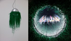 """Untitled (""""Infinity"""" suspended B01-1.1) by Lee Bul contemporary artwork"""