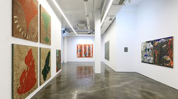 Contemporary art exhibition, Woo Min Jung, Carving the Moon's surface at Gallery Chosun, Seoul