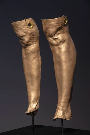 Knee Capped, Cleaves by Julie Rrap contemporary artwork