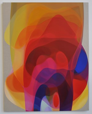 Veiled Spectrum IV by John Young contemporary artwork