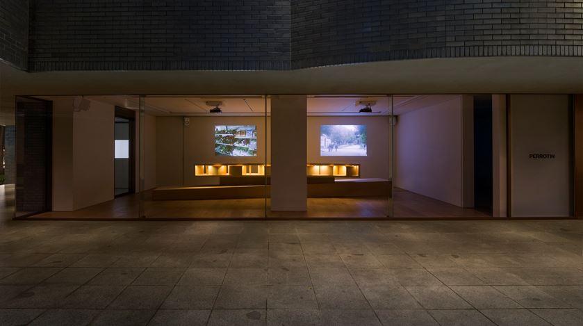 Exhibition view: Lee Mingwei,The Tourist, Perrotin, Tokyo (15 May–26 June 2019). © Lee Mingwei and Perrotin. Courtesy the artist and Perrotin. Photo: Kei Okano.