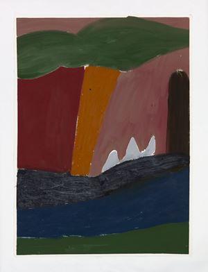 Tree by the rapids by Tuukka Tammisaari contemporary artwork