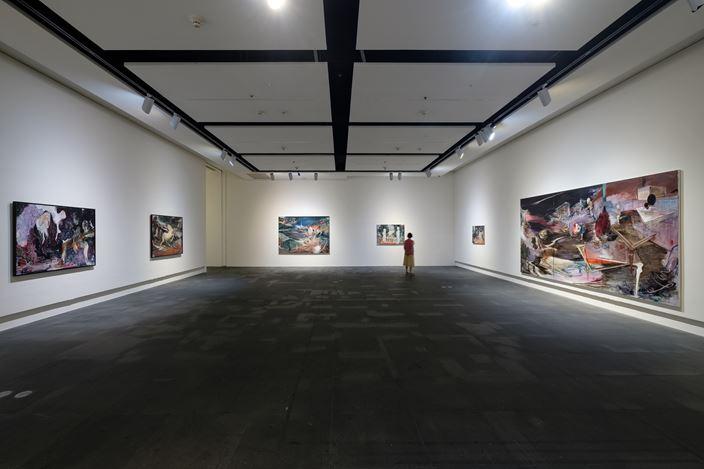 Exhibition view: Rao Fu, Infinitrace, Kauandu Museum of Fine Arts (12 July–22 September 2019). Courtesy Mind Set Art Center.
