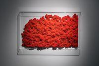 Velvet #1 (Magma) by Kohei Nawa contemporary artwork sculpture
