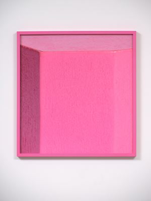 ICON Pink by Shaun Waugh contemporary artwork
