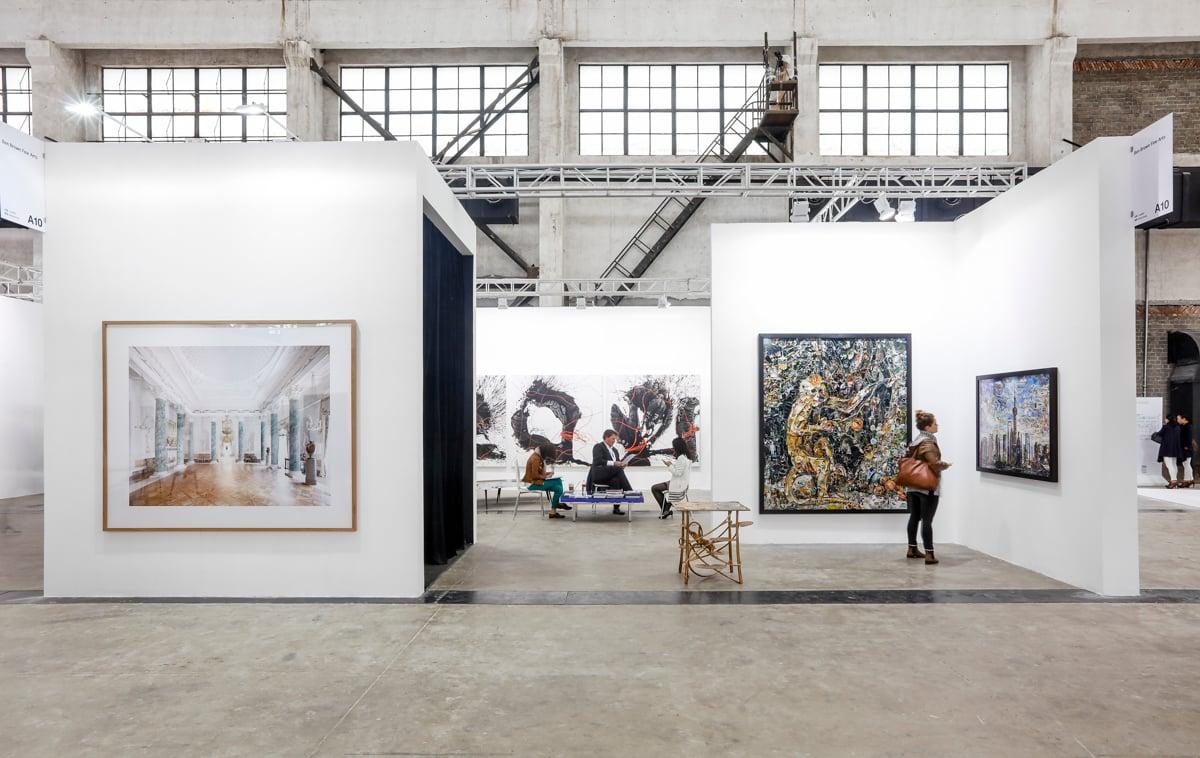 Exhibition view, Ben Brown Fine Arts at The Shanghai West Bund Art & Design Fair, 2016. Image courtesy West Bund Art & Design Fair.